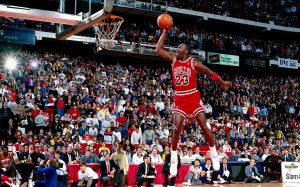 Jordan Slam Dunk Competition