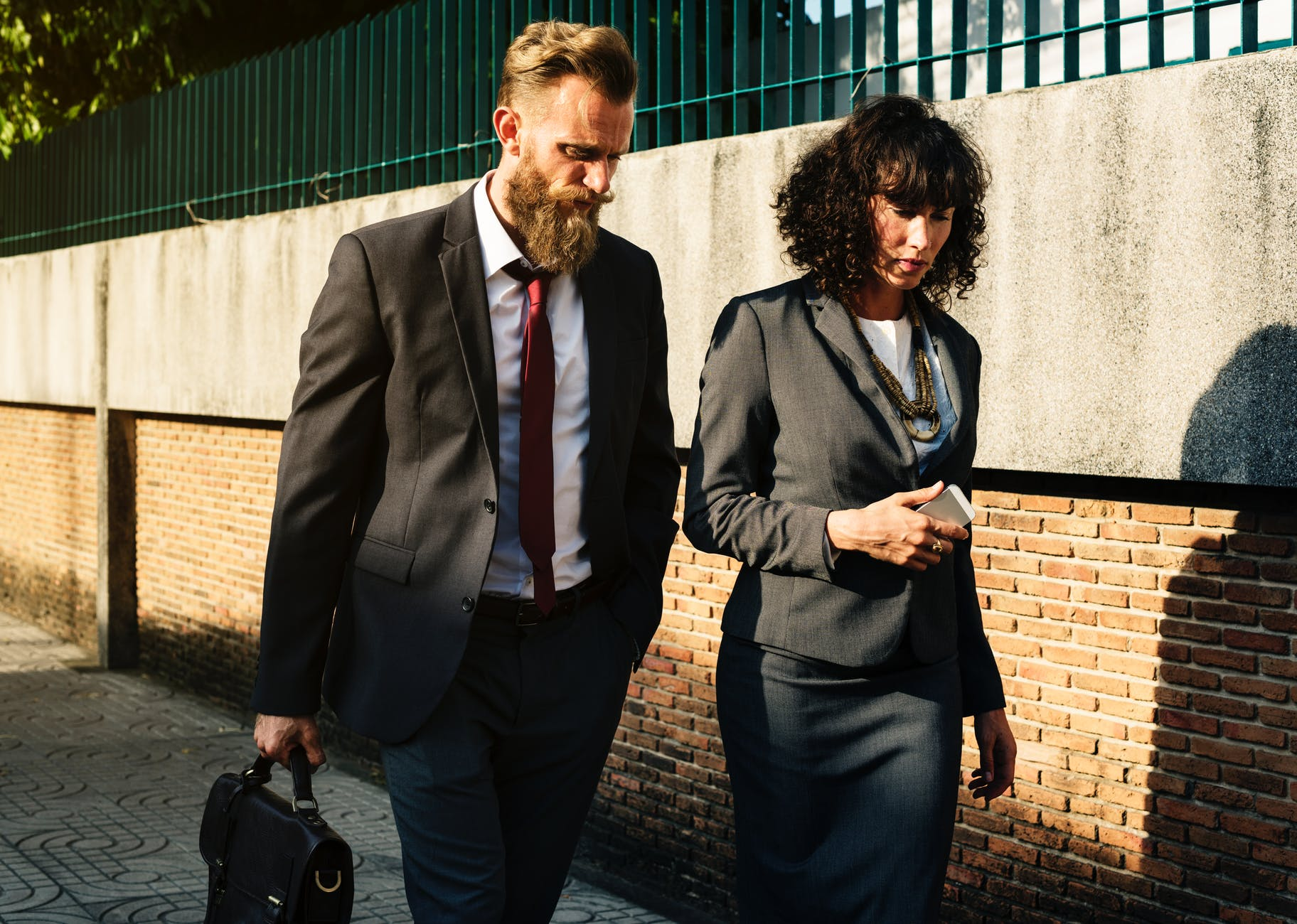 adult beard business city